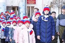 Празднование 77-й годовщины со дня освобождения города Черкесска от немецко-фашистских захватчиков.