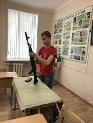 Пятидневные учебные сборы с гражданами, проходящими подготовку по основам военной службы.